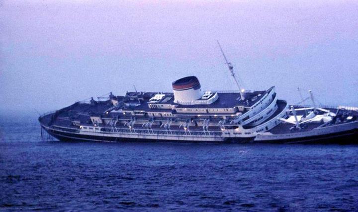 Memoria/ Sessant'anni fa affondava l'Andrea Doria, la nave più bella del mondo
